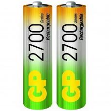 Аккумулятор GP 2700 mAh AA NiMH (HR6) 2шт