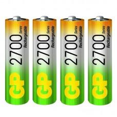 Аккумулятор GP 2700 mAh AA NiMH (HR6) 4шт