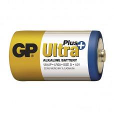 Батарейка GP Ultra Plus LR20 Alkaline (13AUP, Size D)