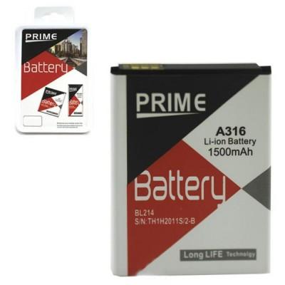 Аккумулятор Prime Lenovo BL214 1500 мАч для A269, A300T, A316, A369