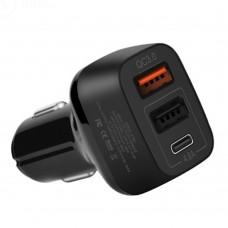 Автомобильное зарядное Hoco Z15B QC3.0 (3USB/4.8 A)