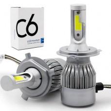 Автолампы светодиодные C6 H4 LED
