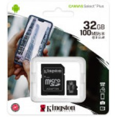 Карта памяти Kingston Canvas Select Plus UHS-I A1 Class10 32GB 100 MB/S