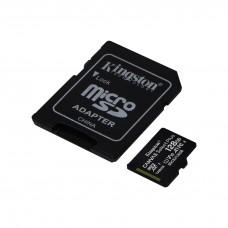 Карта памяти Kingston microSD Canvas Select Plus А1 Class10 UHS-I 128GB (100mb/s)