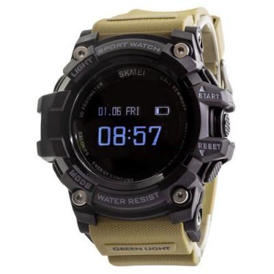 Skmei 1188 Black-Khaki Wristband