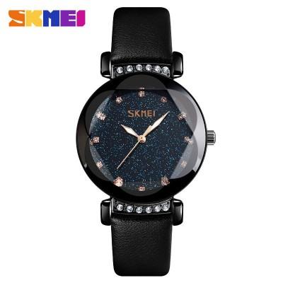 Skmei 9188 All Black Leather