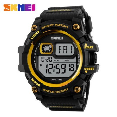 Skmei 1229 Black-Gold