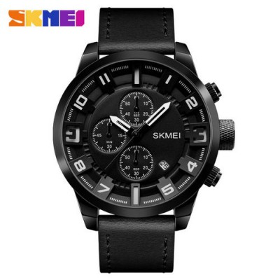 Skmei 1309 All Black-White