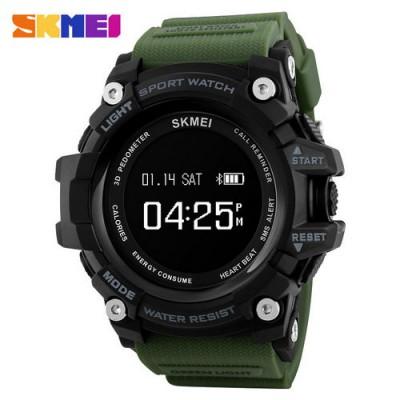 Skmei 1188 Black-Militari Wristband