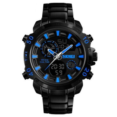 Skmei 1306 Steel Black-Blue