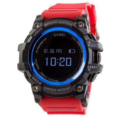 Skmei 1188 Black-Blue Red Wristband