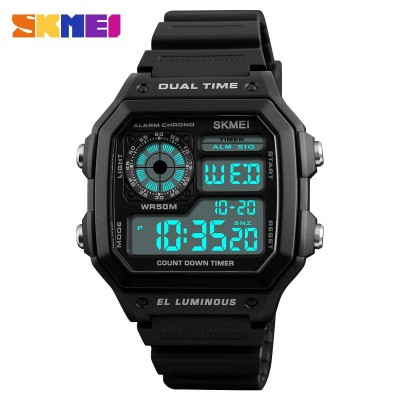 Skmei 1299 All Black
