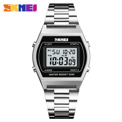 Skmei 1328 Silver-Black