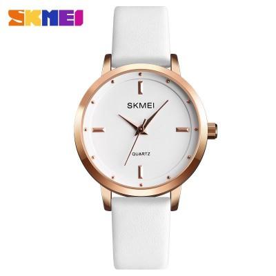 Skmei 1457 Gold White White Wristband