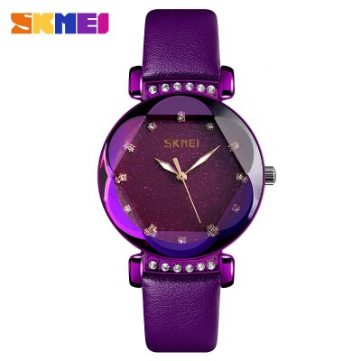Skmei 9188 Violet Leather