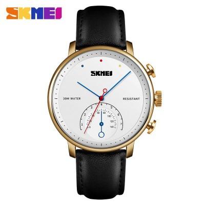 Skmei 1399 Black-Gold-White