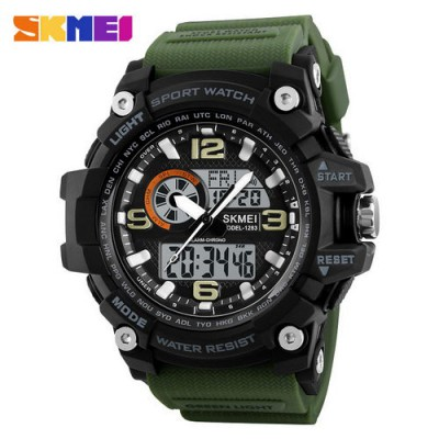 Skmei 1283 Black-Military Wristband