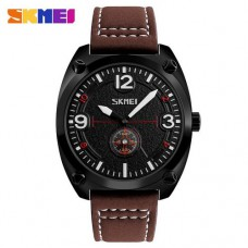 Skmei 9155 Brown-Black-White