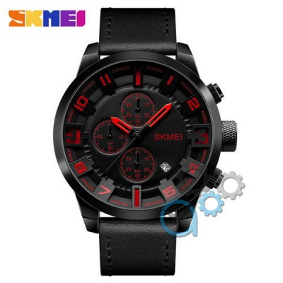 Skmei 1309 All Black-Red