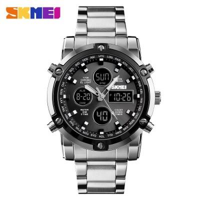 Skmei 1389 Silver-Black-Black
