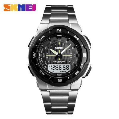 Skmei 1370 Silver Black