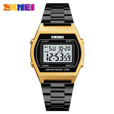 Skmei 1328 Black-Gold-Black