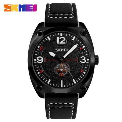 Skmei 9155 All Black-White
