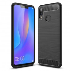 Чехол Prime Polished Carbon Huawei P Smart Plus, Nova 3i Black
