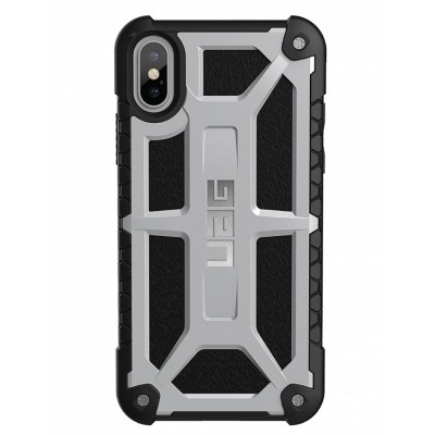 Чехол UAG Urban armor Monarch для iPhone X/Xs Silver