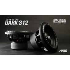 Сабвуферный динамик  STREET SOUND SW-DARK 312