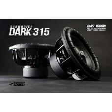 Сабвуферный динамик  STREET SOUND SW-DARK 315