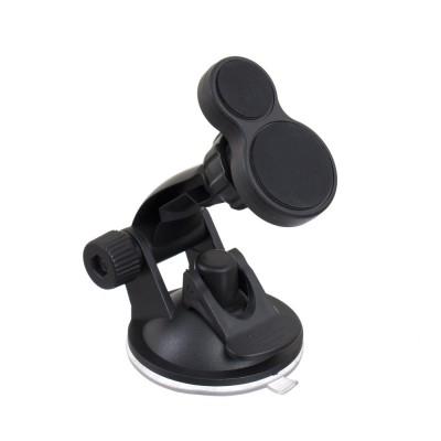 Автодержатель для телефона магнитный UKC 283 (2 набора крепления)