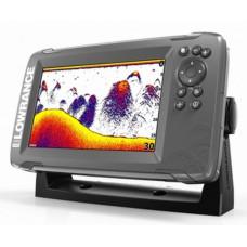 Эхолот Lowrance Hook 2-7x GPS splitshot (000-14020-001)+Струбцина в подарок!