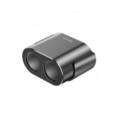 Автомобильное зарядное устройство Baseus High Efficiency One to Two Cigarette Lighter with Base |2USB, 3.1A, 100W|