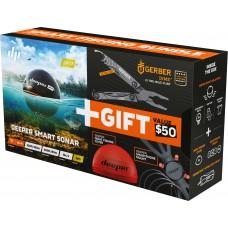 Эхолот Deeper Pro+ (GPS, Wi-Fi) Christmas Bundle