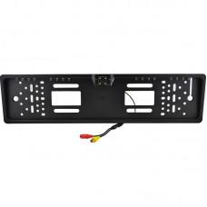 Камера заднего вида в номерной рамке UKC A480 LED Black