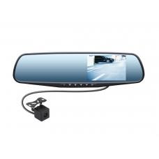 Видеорегистратор-зеркало SWAT VDR-4U c камерой заднего вида