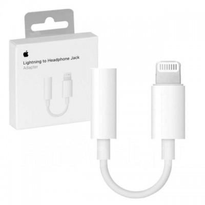 Адаптер Apple Lightning - 3.5 mm White Original