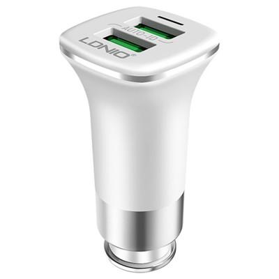 Автомобильное зарядное устройство Ldnio DL-C301 2USB 3.6A