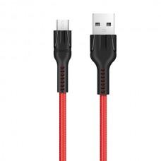 Кабель USB Hoco U31 Micro Красный