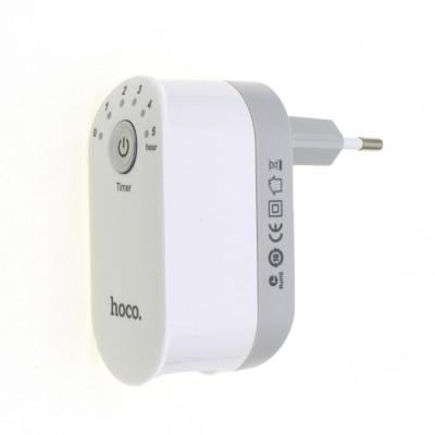 Сетевой адаптер Hoco С16 Smart Timing 2USB с таймером