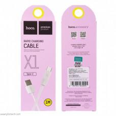 Кабель Hoco X1 USB Type-C White