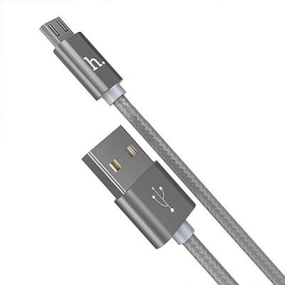 Кабель Hoco X2 Charging Micro USB 1m Grey