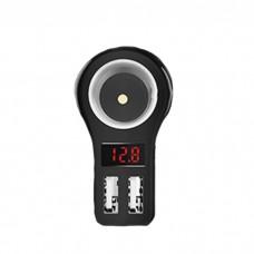 Автомобильное зарядное устройство Hoco Z10 2USB Black