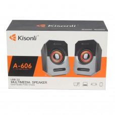 Колонки для компьютера Kisonli A-606 Black