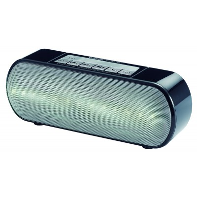 Портативная колонка Wster WS-2513BT LED Black