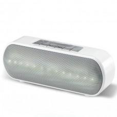 Портативная колонка Wster WS-2513BT LED White