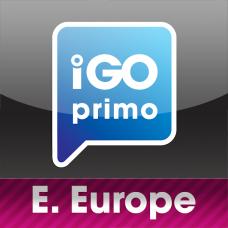 Карта Европы IGO Primo для грузовых и легковых