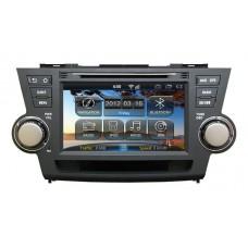 Штатная магнитола Toyota Highlander 2008-2013