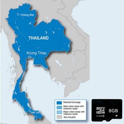 Карта Таиланда для навигаторов Garmin